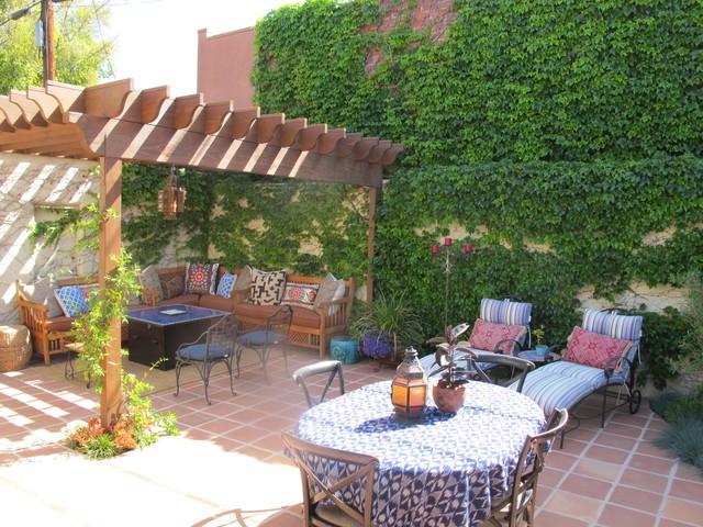 Spanish Style Backyard Redo