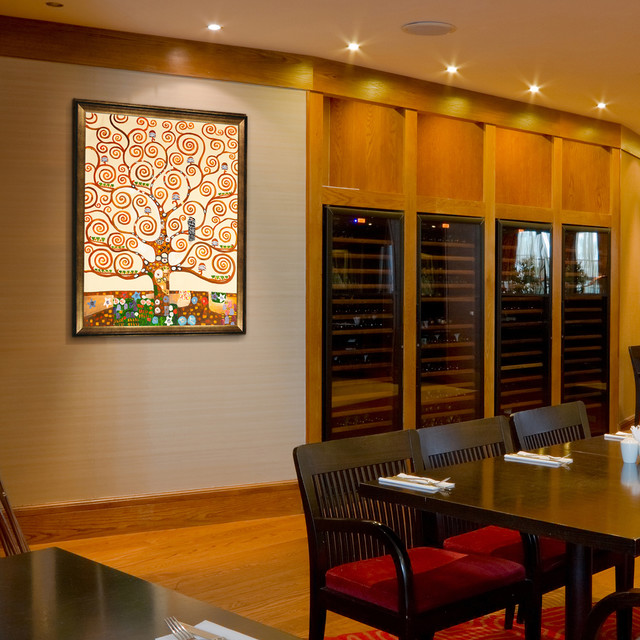 Oil Paintings For Dining Rooms  Contemporary  Dining