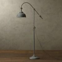 LOFT RH Antique Metal Floor Lamp - Rustic - Floor Lamps ...