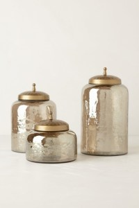 Mercury Moss Canister - Contemporary - Bathroom Canisters ...