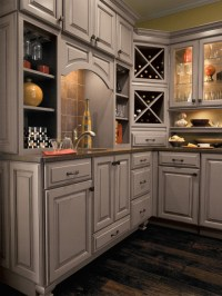 Diamond Cabinetry - Traditional - Wine Cellar ...