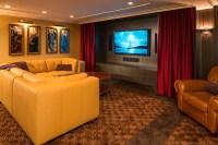 Art Deco Entertaining - Modern - Home Theater ...