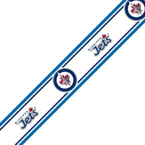 NHL Winnipeg Jets SelfStick Hockey Wall Border Roll