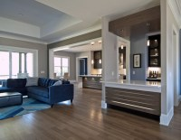 Egan Residence: Contemporary Kitchen/Wet Bar Design ...