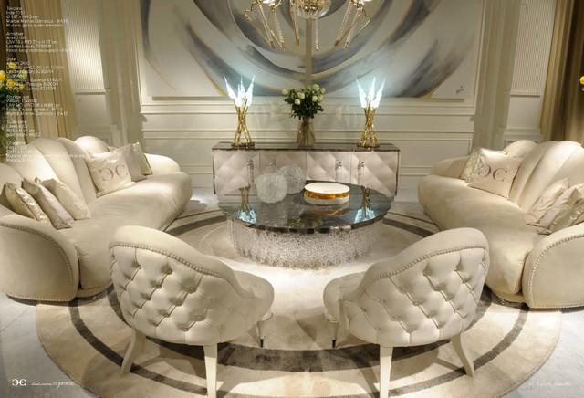 aubergine leather sofa oxford studio showroom - modern sofas new york by home & style ...