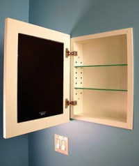 Concealed Medicine Cabinets - Make Your Own