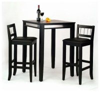 Manhattan Pub Table Set - Modern - Bar Stools And Counter ...