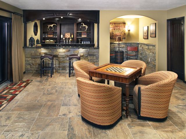 Bar  Game Room traditionalfamilyroom