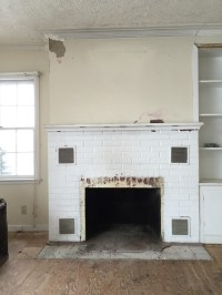 I need opinions on what to do with old fireplace