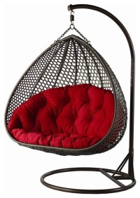 Yahg Double Wide Hanging Chair - Contemporary - Hammocks ...
