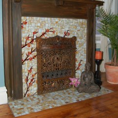 Kitchen Wall Hanging Ideas Delta Pull Down Faucet Asain Fireplace - Asian Bedroom Other Metro By Stevo ...