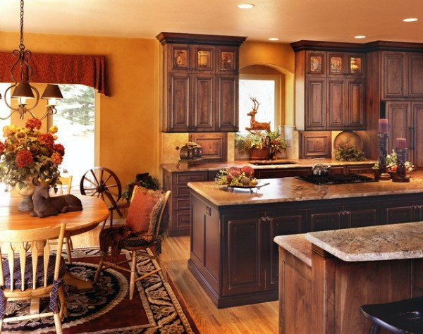 traditional country kitchen design Rustic and Country Kitchens