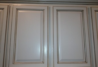 Painting Kitchen Cabinets White Glaze