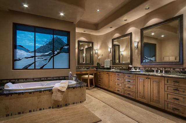 Southwest Contemporary  Southwestern  Bathroom  phoenix  by Design Directives LLC