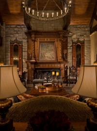 Gothic Castle Living Room