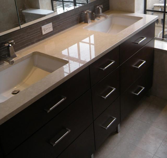 Double Sink 7-Drawer Vanity - Modern - Bathroom Vanities ... on {keyword}
