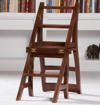 Library Ladder Chair - Traditional - Ladders And Step ...