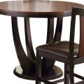 Oakton 48 inch round counter height table contemporary dining tables