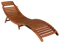 Lisbon Folding Chaise Lounge Chair - Contemporary ...