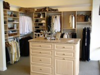 Walk-in Closet with Island - Traditional - Closet ...