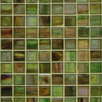 Green With Envy Glass Mosaic - Tile - new york - by ...
