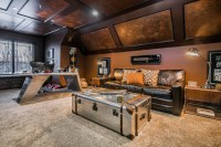Ultimate Man Cave - Eclectic - Home Office - columbus - by ...