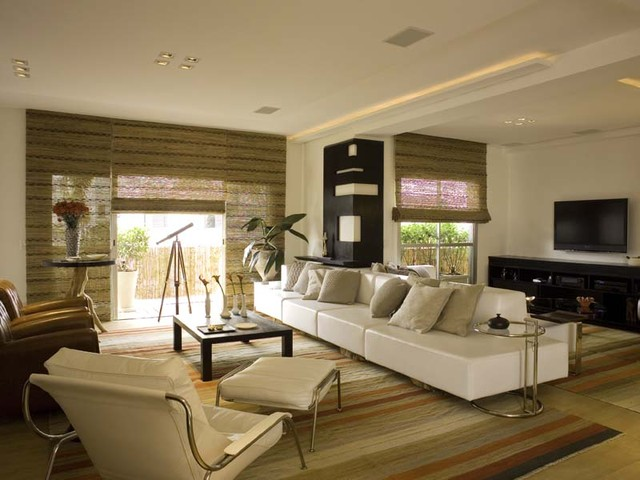 Chic and Zen  Modern  Living Room