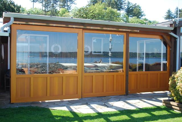 photos custom wood sliding glass door contemporary exterior vancouver