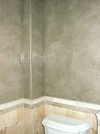 Grey Venetian Plaster Walls