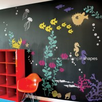 Under the Sea Wall Decal - Nursery Decor - by Simple Shapes