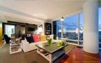 One Rincon Residential High-Rise - Modern - Living Room ...