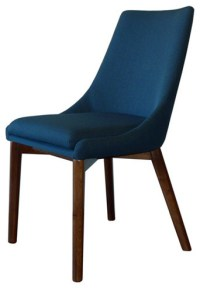 Pascal Dining Chair, Azure - Modern - Dining Chairs - by ...