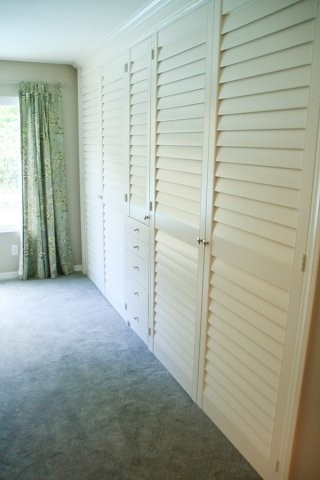 More Custom Closet Doors  Traditional  Closet  san diego  by French Brothers Custom Shutters