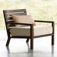 Tillary Outdoor Lounge Chair - Modern - Outdoor Lounge ...