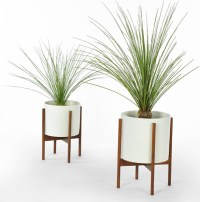 Case Study Cylinder Plant Pot With Stand, Small ...