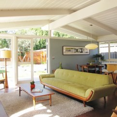 Adrian Pearsall Rocking Chair How To Make A Wooden My Houzz: Mid-century Marvel Revived In Long Beach - Midcentury Living Room Orange County ...
