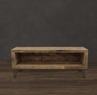 Small Console, Reclaimed Wood Media Entertainment Stand ...