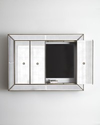 The gallery for --> Mirrored Tv Wall Cabinet