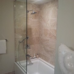 Kitchen Splash Guard Commercial Hood Frameless Sliding Guards - Bathroom Other Metro ...