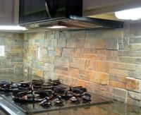 Natural Stone Back Splash - Traditional - Kitchen ...