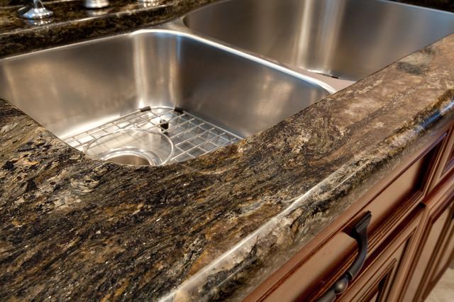 Saturnia Granite  Modern  Kitchen  dc metro  by