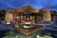 Desert Mountain Estate - Contemporary - Exterior - phoenix ...