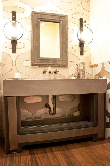 outdoor kitchens las vegas kitchen hot water dispenser metal elements - contemporary bathroom vanities and sink ...