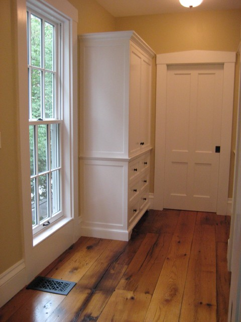 Greek Revival Hallway  Traditional  Hall  boston  by