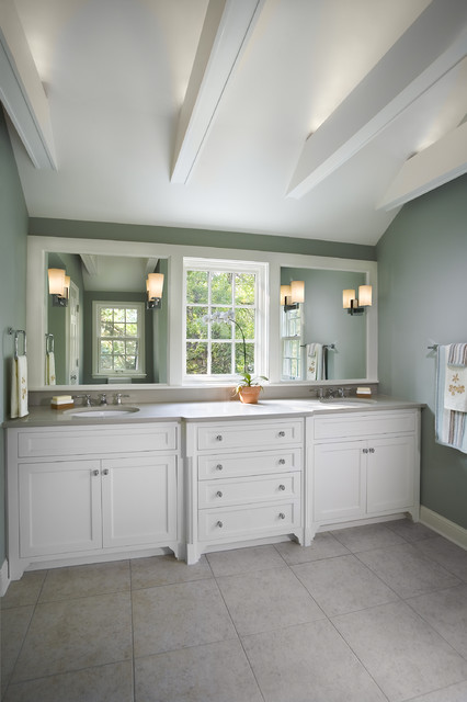 1940s Colonial Revival Remodel  Master Bath  Traditional  Bathroom  minneapolis  by TreHus