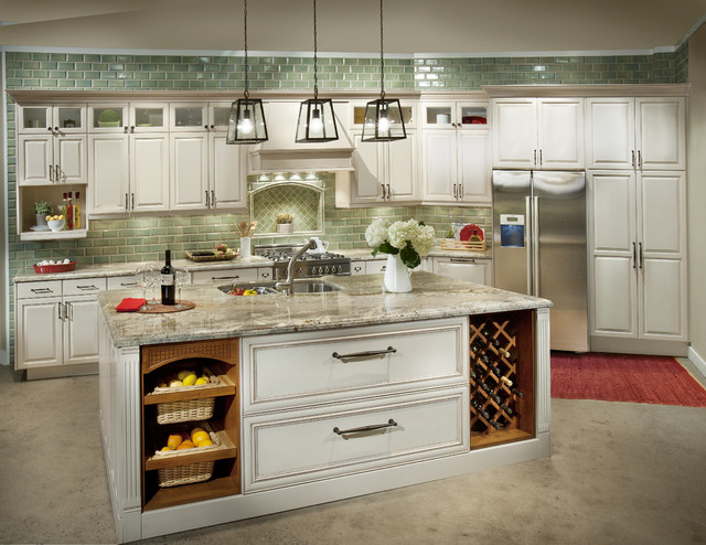 Painted DeWils Cabinets  Traditional  portland  by