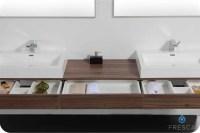 Fresca Ciron Modern Double Sink Bathroom Vanity ...