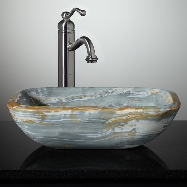 New Stone Vessel Sinks  Bathroom Sinks  cincinnati  by Signature Hardware
