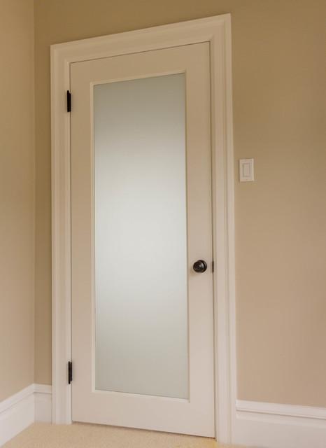 One Panel MDF Doors Traditional Bedroom