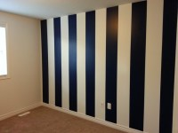 How to Paint Vertical Stripes